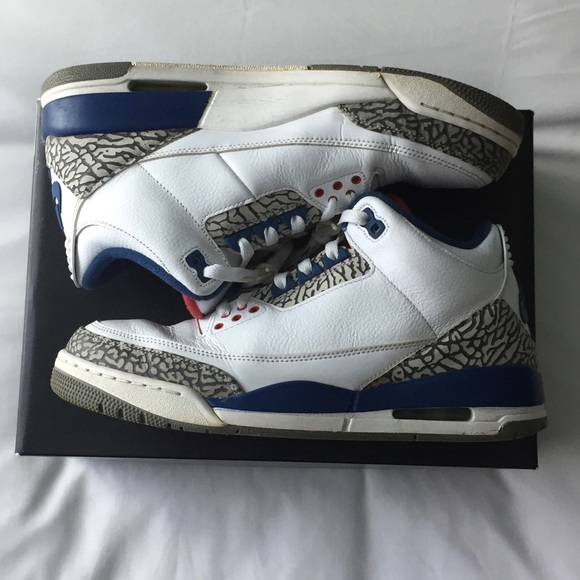 san francisco 8aca7 d08ae Jordan Other - Air Jordan 3 Retro True Blue 854262-106 10 Nike OG